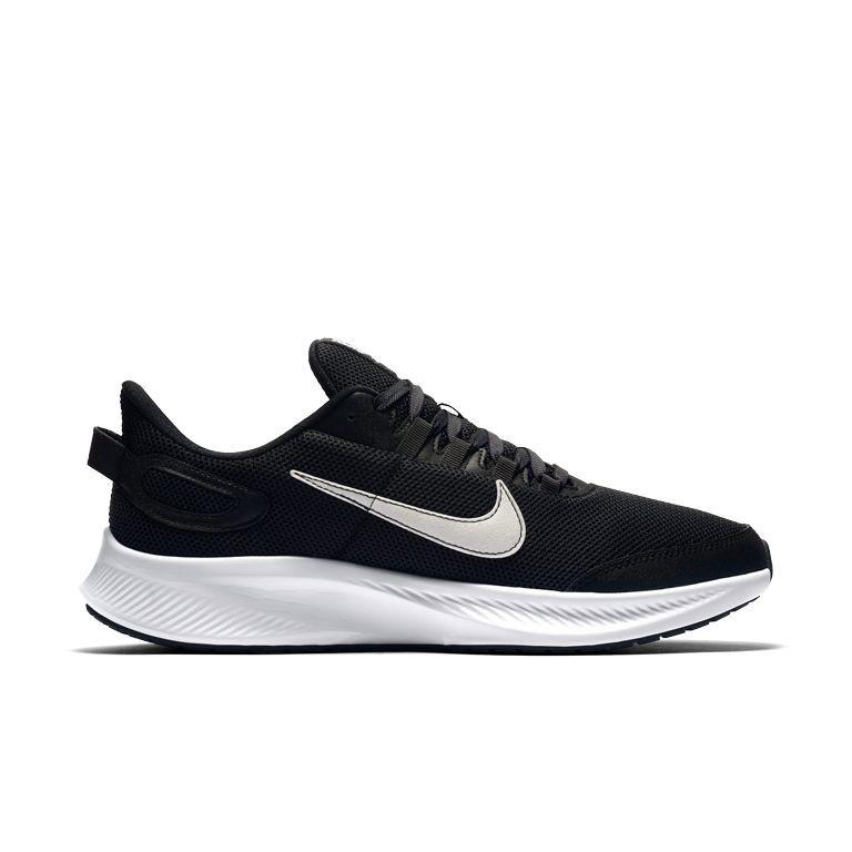 נעלי נייק גברים  שחור לבן - Nike Run All Day 2