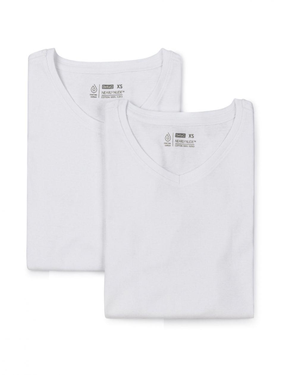 מארז שתי חולצות ארוכות חיילות V BASIC