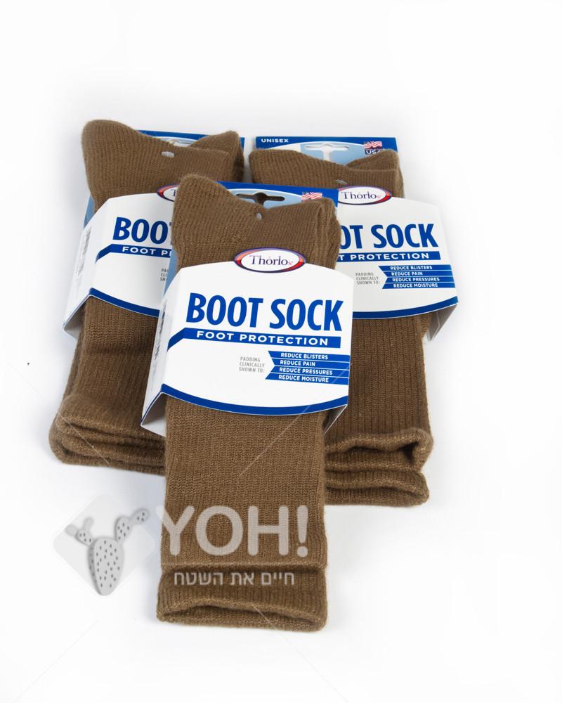 שלישיית גרביים קרביות של חברת THORLOS לפעילות מאומצת