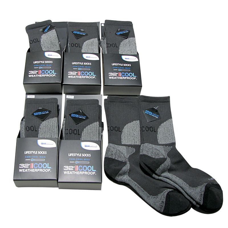 32COOL גרביים מנדפות -6 זוגות