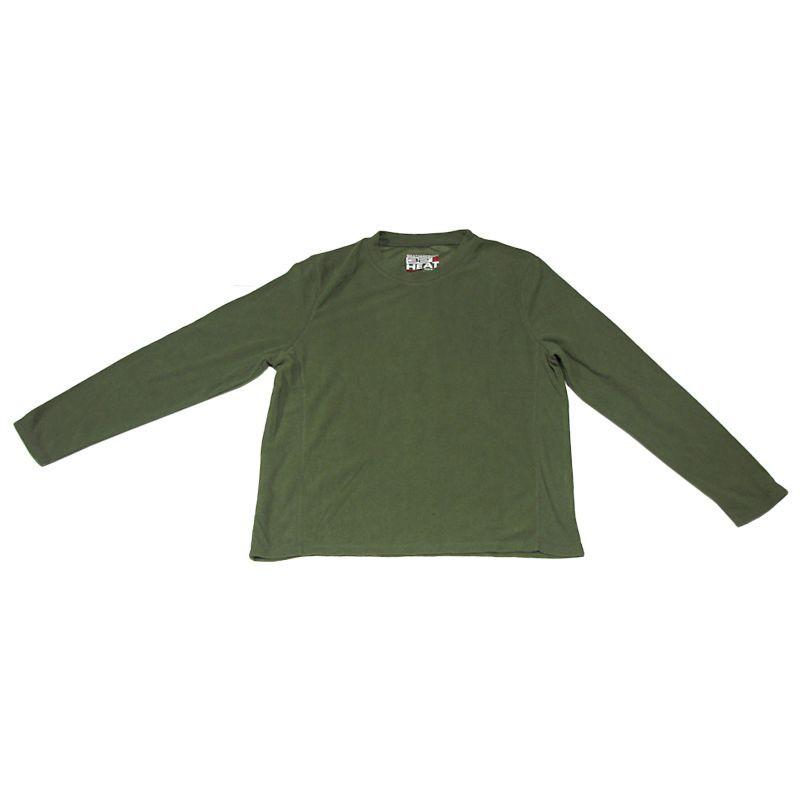 """חולצת פליז זית שרוול ארוך רק 49 ש""""ח"""