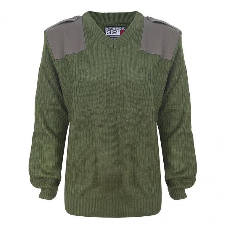 סוודר צבאי זית